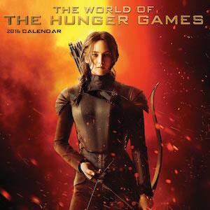The Hunger Games 2016 Wall Calendar