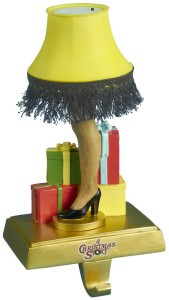A Christmas Story Leg Lamp Stocking Holder