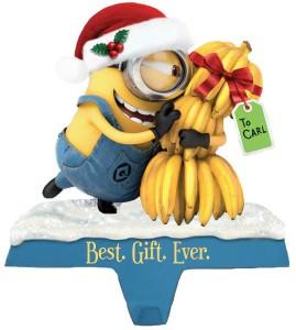 Minion Banana Bunch Stocking Holder
