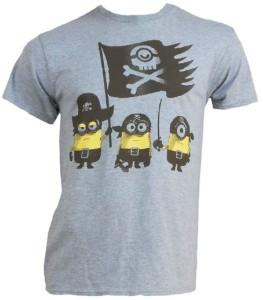Minion Pirates Adult T-Shirt