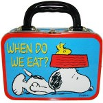 Peanuts When Do We Eat Lunchbox