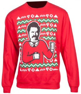 Ron Swanson Ugly Christmas Sweater