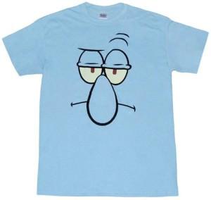 Squidward Face T-Shirt