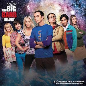 The Big Bang Theory Wall Calendar 2016