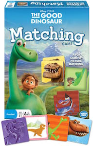 The Good Dinosaur Matching Board Game