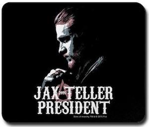 Jax Teller President Mousepad