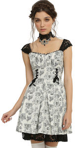 women's Pride + Prejudice + Zombies Sweetheart Dress