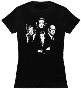 The X Files Four T-Shirt