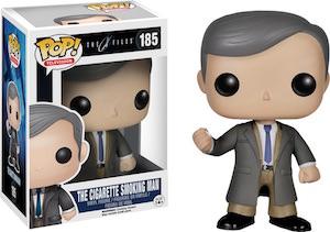 The X Files Smoking Man Pop! Figurine