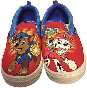Paw Patrol Cute Chase And Marshall Little Kids Shoes