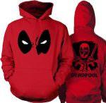 Marvel Red Deadpool Hoodie