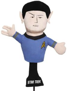 Spock Golf Club Head Cover