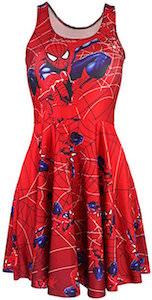 Marvel Women's Red Spider-Man Dress