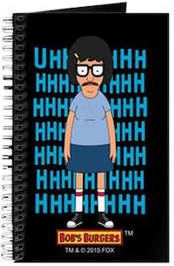 Bob's Burgers Tina Uhhhhh Notebook