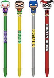 Classic Batman Funko Pop Pen Topper Set Of 4