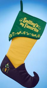 Buddy Elf Smiling's My Favorite Christmas Stocking