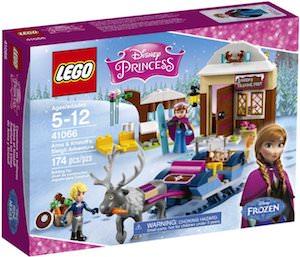 Frozen LEGO Anna And Kristoff's Sleigh Adventure