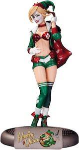 DC Comics Bombshells Holiday Harley Quinn Figurine