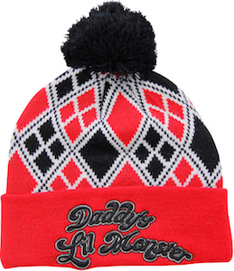 4687c28ef73dc Suicide Squad Harley Quinn Daddy s Lil Monster Winter Hat