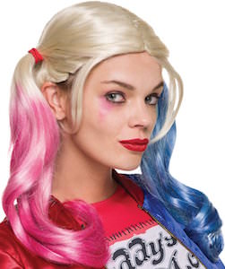 Suicide Squad Harley Quinn Costume Wig