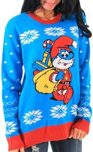 Papa Smurf Christmas Sweater