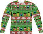 Sesame Street Christmas sweater