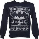 Navy Blue Batman Christmas Sweater