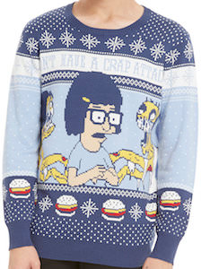 Bob's Burgers Tina Don't Have A Crap Attack Sweater