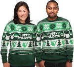 Green Pokemon Christmas Sweater