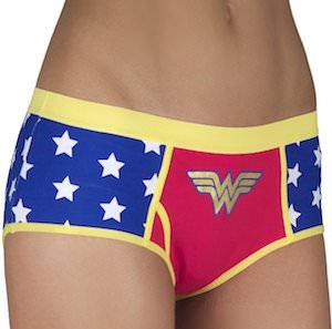 Wonder Woman Costume Style Panties