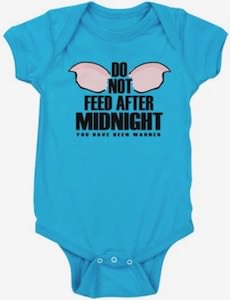 Gremlins Do Not Feed After Midnight Baby Bodysuit