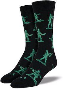 Pixar Toy Story Green Army Men Socks