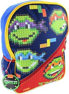 Teenage Mutant Ninja Turtles LEGO Style Backpack