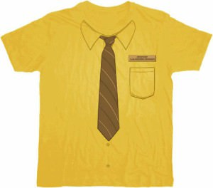 The Office Dwight Work Shirt With Tie T-Shirt