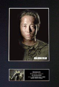 Glenn Rhee Signed Photo Print