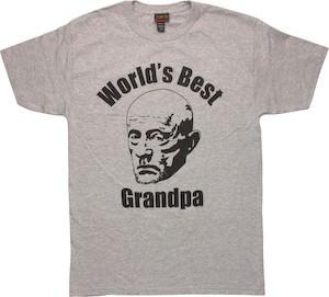 World's Best Grandpa Mike T-Shirt