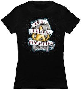 Star Trek The Final Frontier Banner T-Shirt
