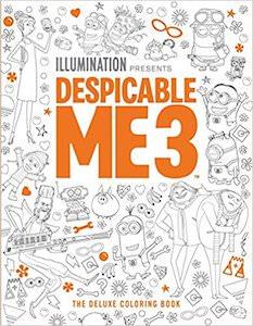 Despicable Me 3 Coloring Book