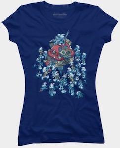 Zombie Smurfs T-Shirt