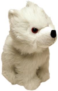Game of Thrones Plush Direwolf Cub