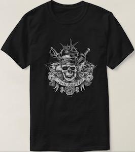 Pirates Of The Caribbean Jack Sparrow Skull T-Shirt