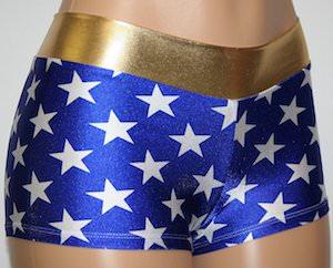 Wonder Woman Costume Shorts
