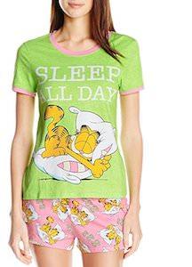 Women's Sleep All Day Garfield Pajama Set