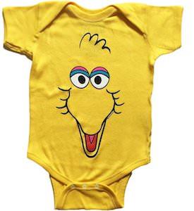 Sesame Street Big Bird Baby Bodysuit