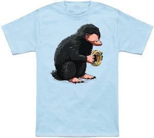 Niffler Holding The Ring T-Shirt