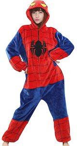 Marvel Spider-Man Onesie Pajama Costume