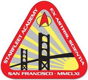 Star Trek Starfleet Academy Sticker
