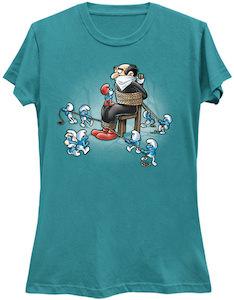The Smurfs Revenge On Gargamel T-Shirt