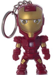 Iron Man Key Chain With Flashlight