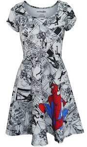 Spider-Man Comic Dress